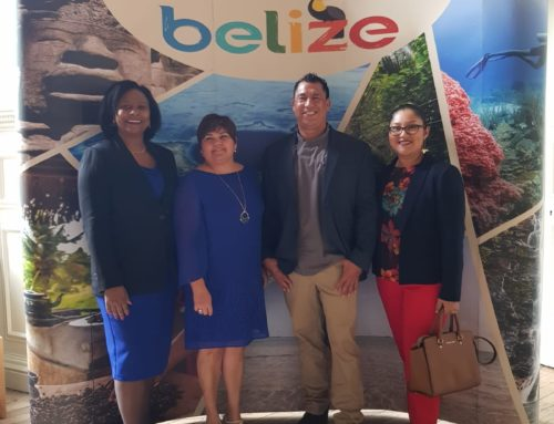 Belize High Commissioner Welcomes Guests to the Belize Wanderlust Travel Magazine Event in London!