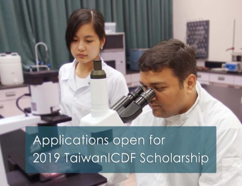 Applications Are Now Open For The 2019 Taiwan ICDF Scholarships