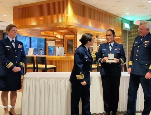 Belize Coast Guard Receives Honour Graduate Award