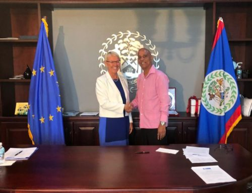 Government Of Belize & The European Union Signs Financing Agreement Of BZ 31. 96 Million Grant Funding For The Energy Sector