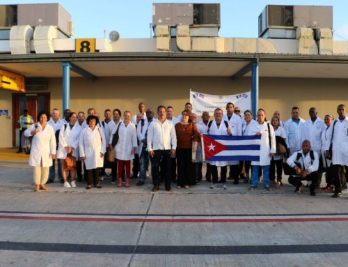 Cuban Medical Professionals Help Belize Fight COVID-19
