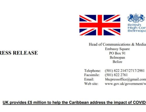 UK Provides £5 million To Help The Caribbean Address The Impact Of COVID-19